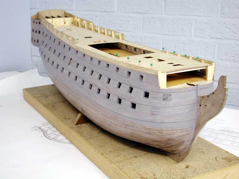 JoTiKa Ltd HMS Victory Construction Page 5