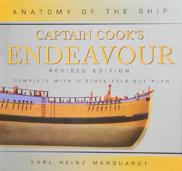 JoTiKa Ltd. ~ Books, Anatomy of the ship: Captain Cook\'s Endeavour.